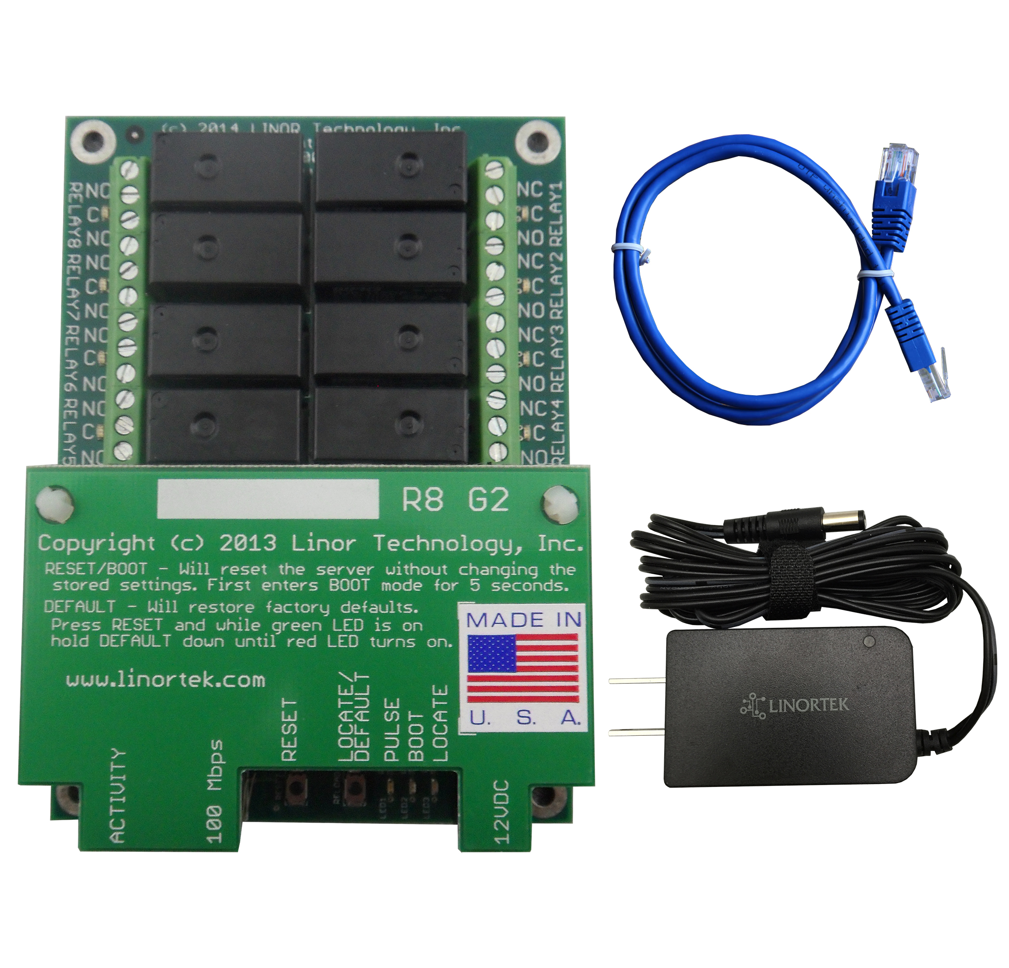Netbell-8 TCP/IP Web-based Bell Ringer Network Bell Controller for School / Factory Bell System with Up to 500 Event Schedules