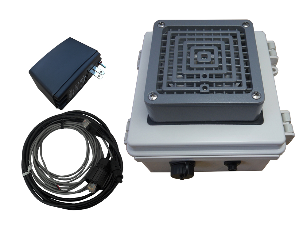 NETBELL-KB Web-based Self-contained Break Buzzer System with Vibratone Horn 100dBa @ 10'