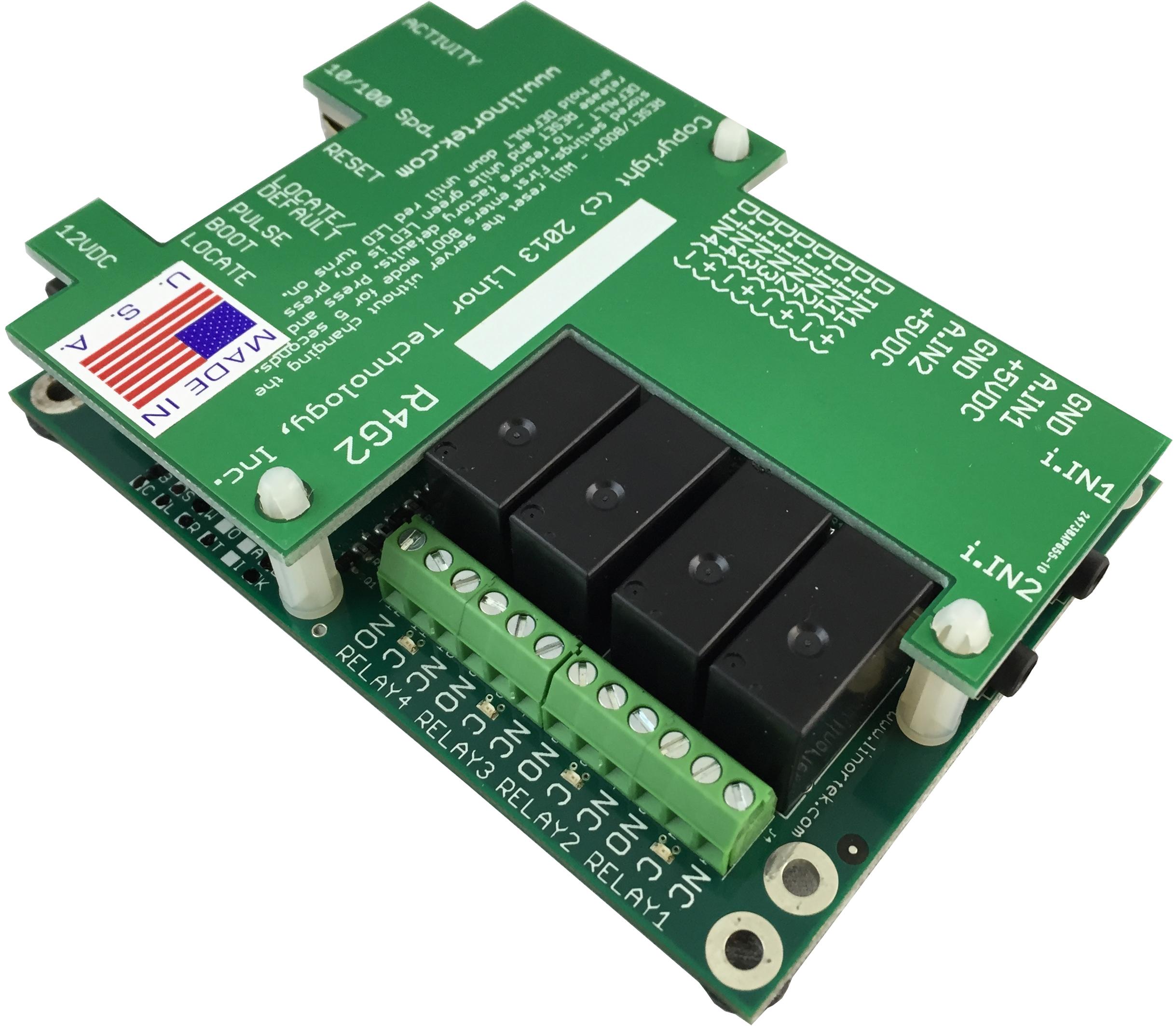 Fargo G2r4adi Web Based Tcp Ip Ethernet I O Relay Remote Control Circuit Boardbuy Cheap Board Monitoring