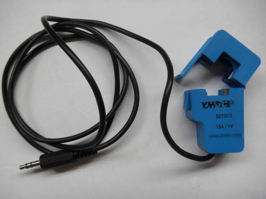 New split-core current transformer 15A 3.5mm output used for current measurement