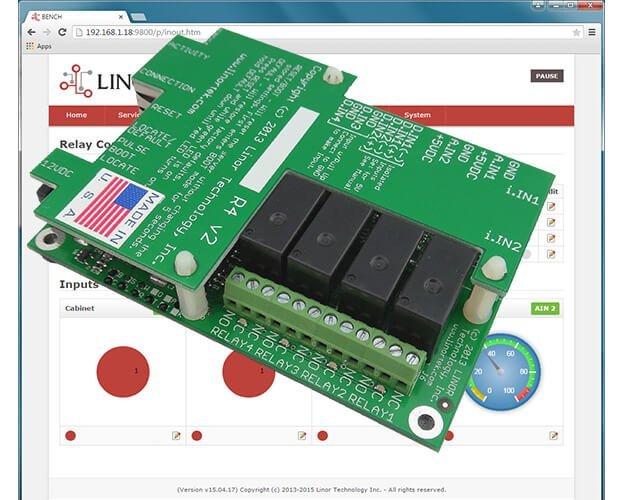 FARGO G2R4DI Remote Relay Control Board