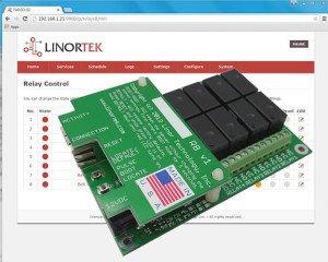 FARGO G2R8 Web controlled relay board