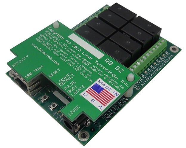 FARGO G2R8 Web Relay Controller