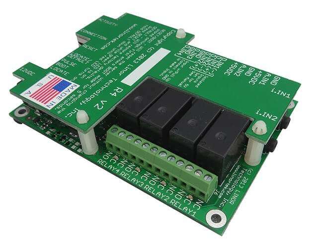 FARGO G2R4ADI Web Based TCP/IP Ethernet I/O Relay Remote Control & Monitoring Board