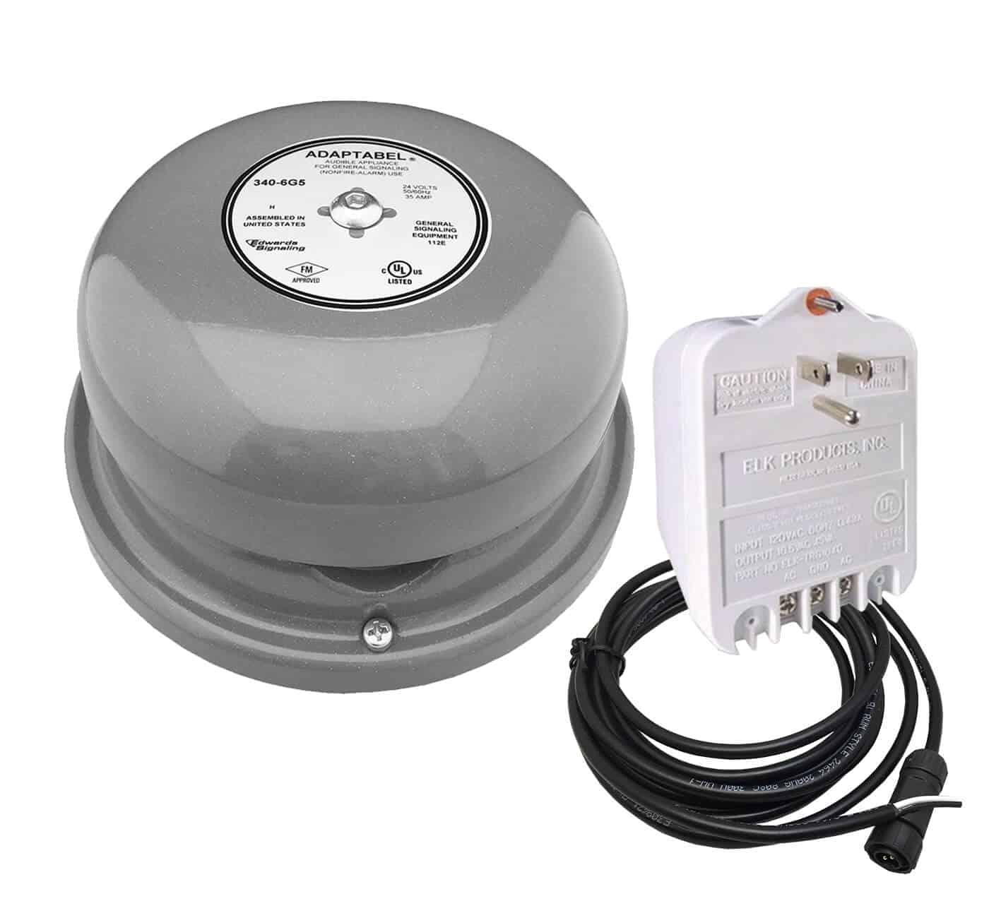 Netbell-KL-E2M Network All-in-One Extra Loud Break Bell System (3 Bells System)