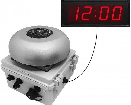 Netbell Timed Alert System: Netbell-KC-M2 Network Bell and Clock System