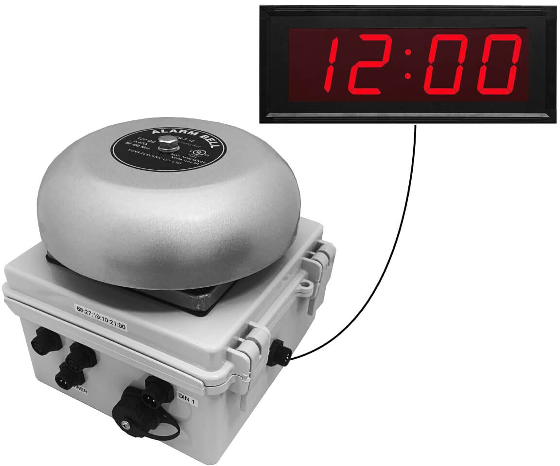 Netbell-KC-M2 Network Break Bell Clock System