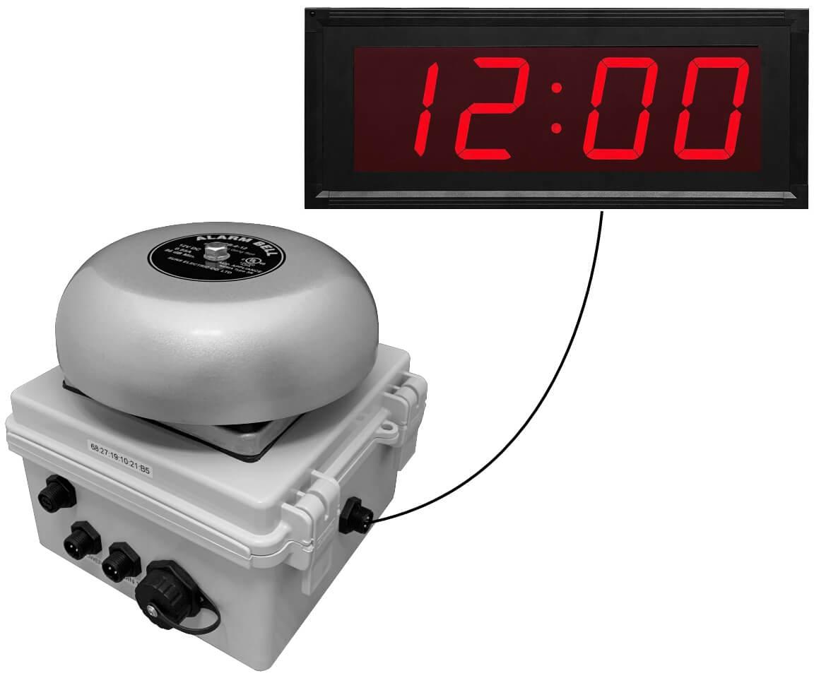 Netbell-K-C Network Break Bell Clock System