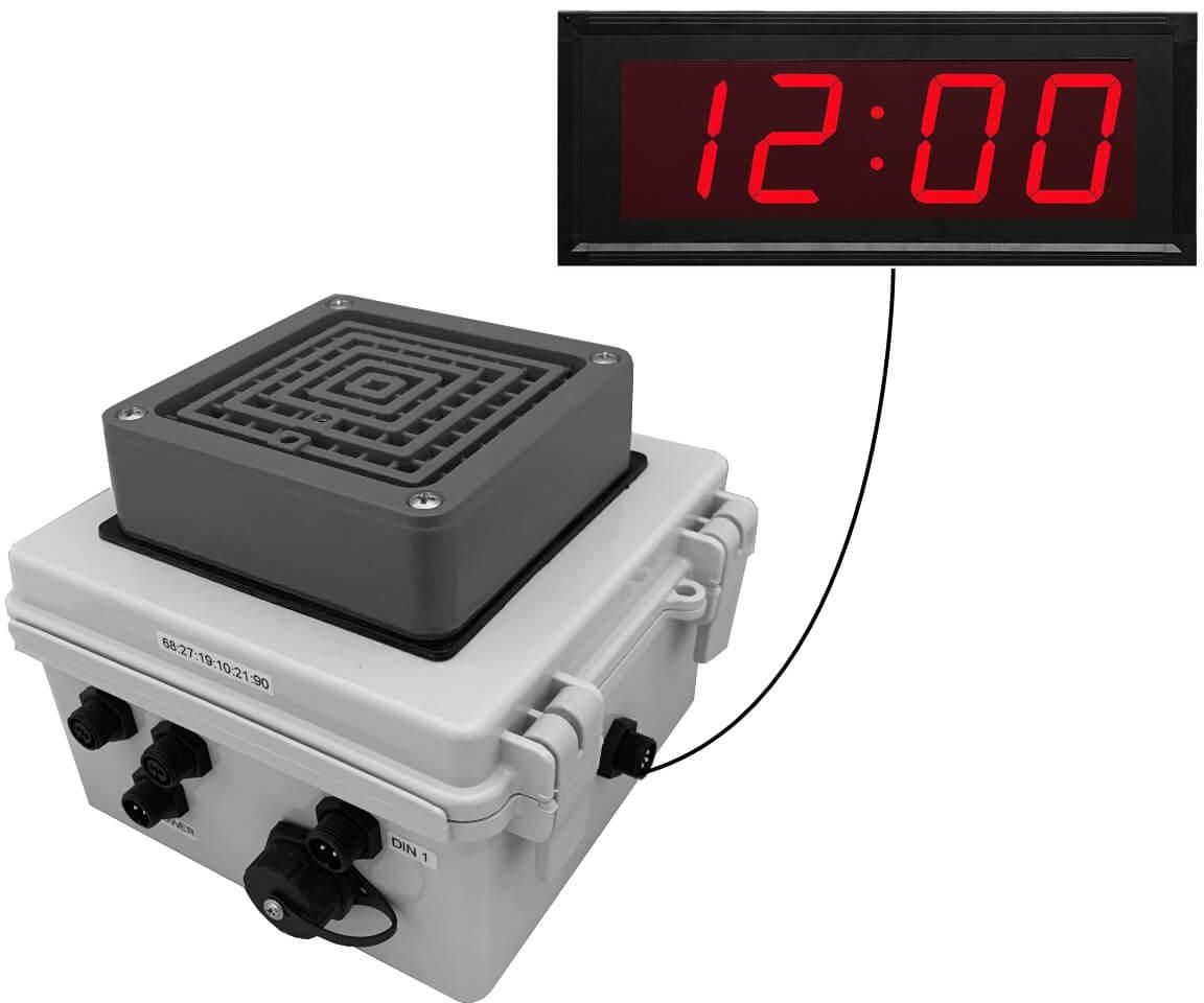 Netbell-KB-M2-C Network Break Buzzer Clock System