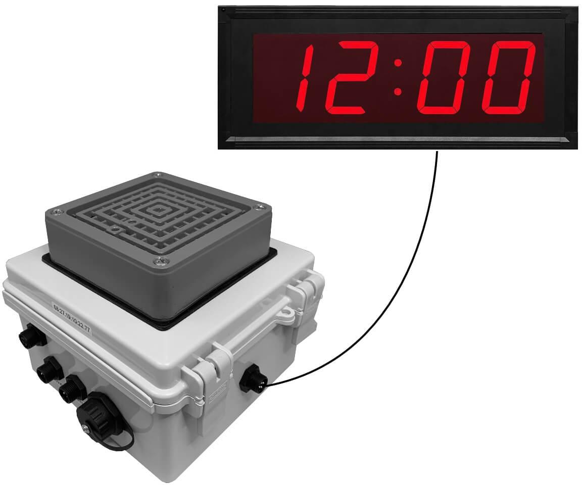 Netbell-KB-C Network All-in-One Break Buzzer Clock System