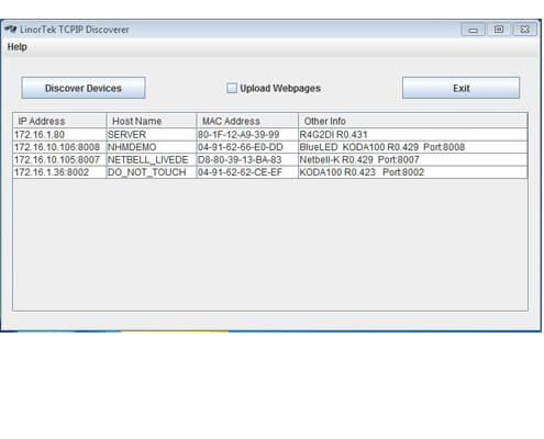 Netbell Timed Alert System Discover Program