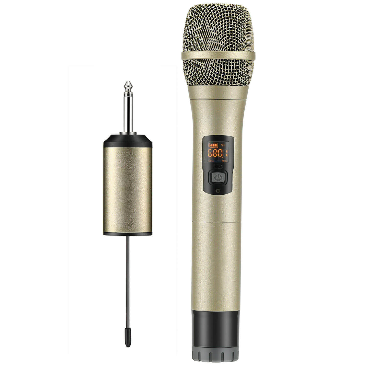 Wireless UHF Bluetooth Microphone