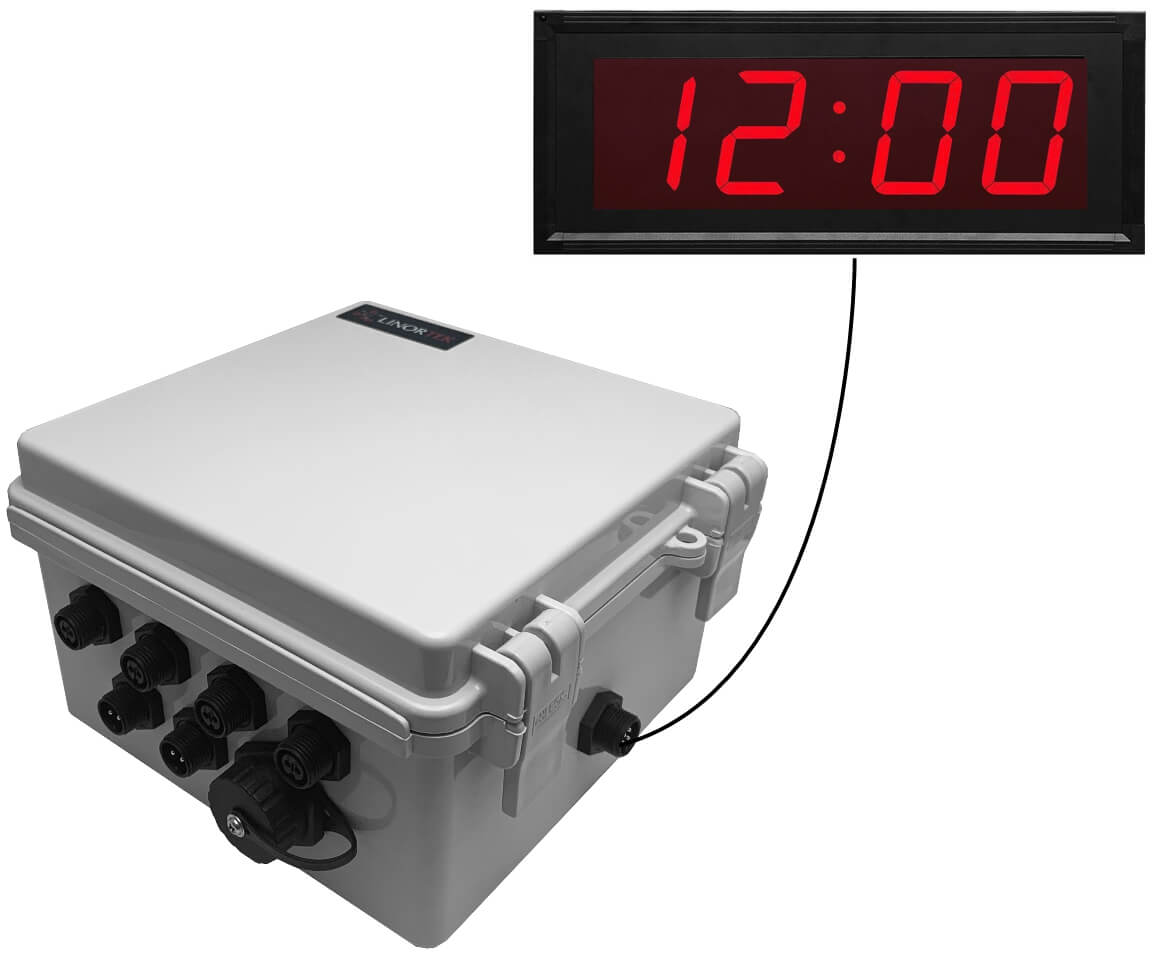 Netbell-4K-C Network Bell Controller with Digital Clock
