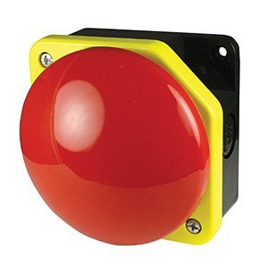 Red 90mm Momentary Push Button