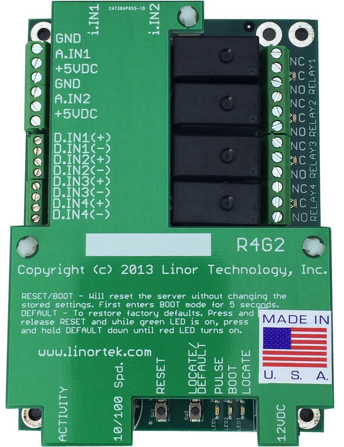 FARGO G2R4ADI Web Relay Controller
