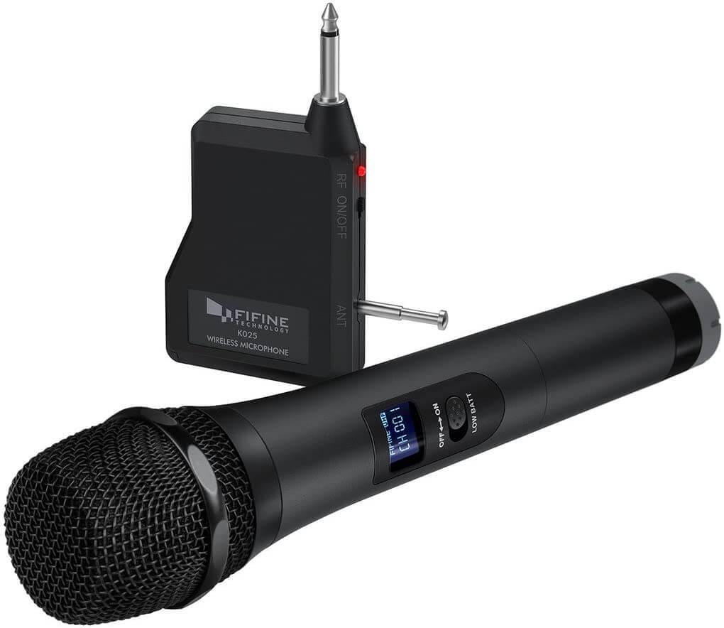 Wireless UHF Microphone